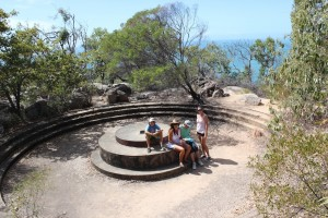 Gun Placement on Magnetic Island